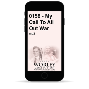 0158 - My Call To All Out War