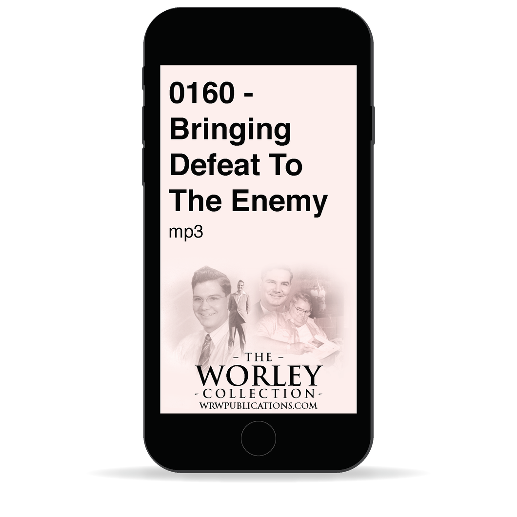 0160 - Bringing Defeat To The Enemy