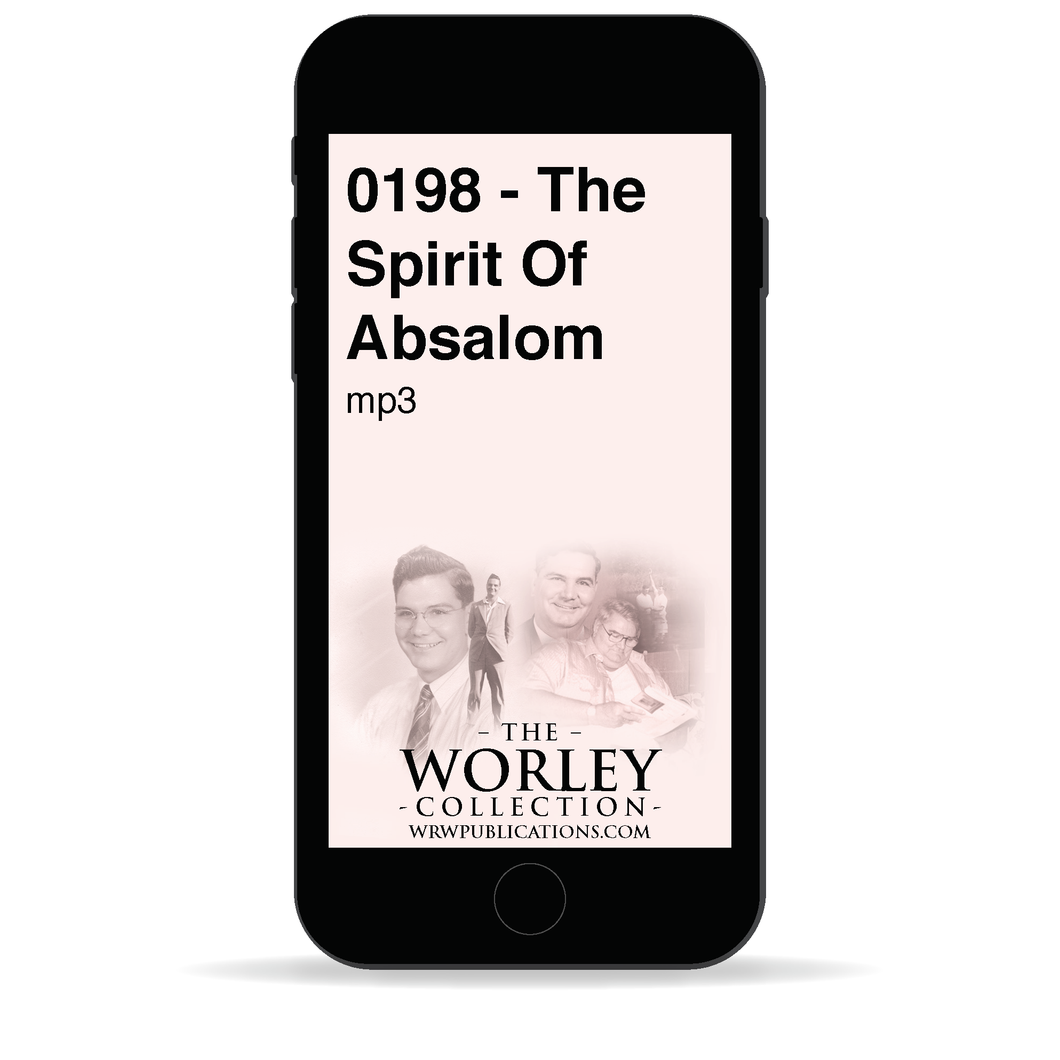 0198 - The Spirit Of Absalom