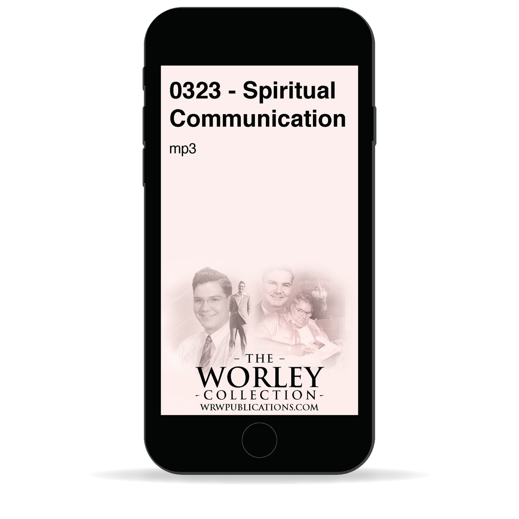 0323 - Spiritual Communication