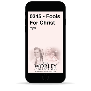 0345 - Fools For Christ