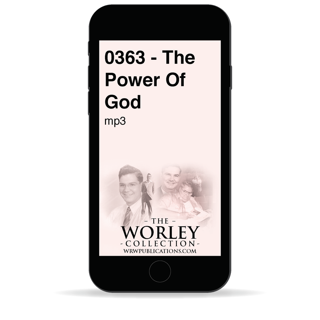 0363 - The Power Of God