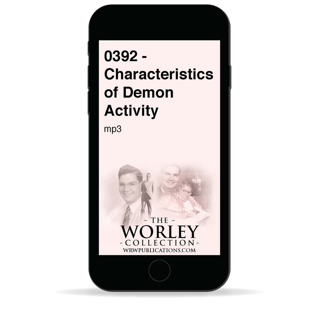 0392 - Characteristics of Demon Activity