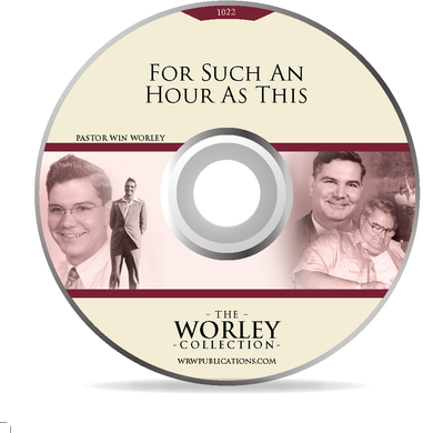 1022 - For Such An Hour As This (DVD)