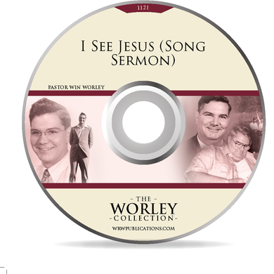 1121: I See Jesus (Song Sermon) (DVD)