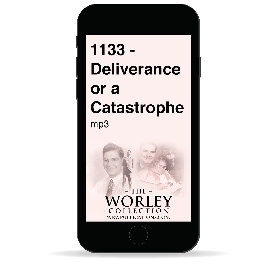 1133 - Deliverance or a Catastrophe