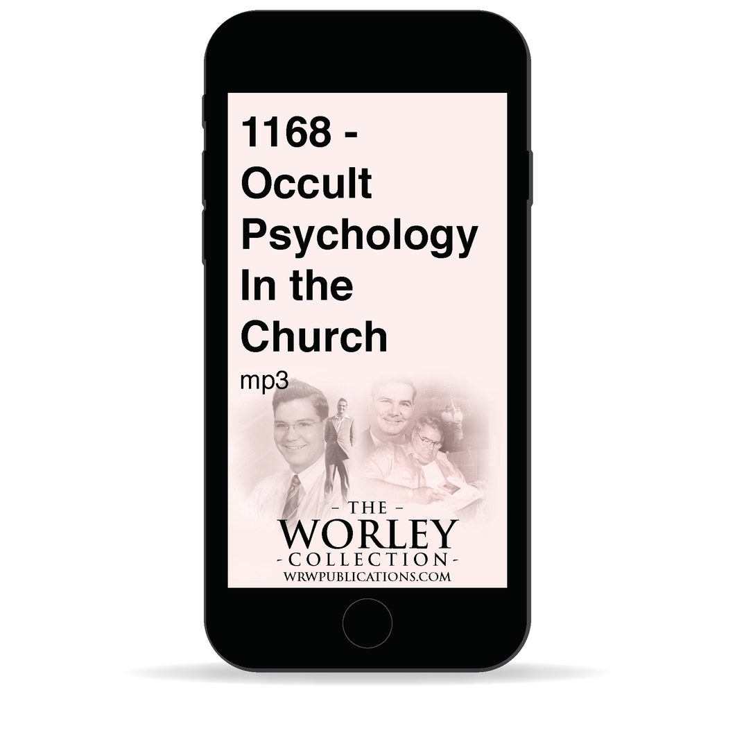1168 - Occult Psychology In the Church