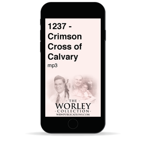 1237 - Crimson Cross of Calvary