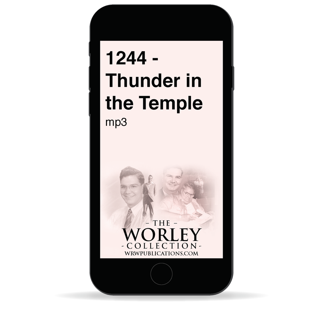 1244 - Thunder in the Temple