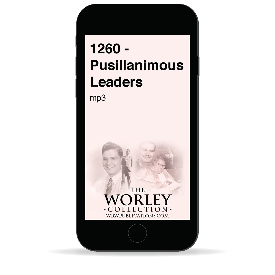 1260 - Pusillanimous Leaders