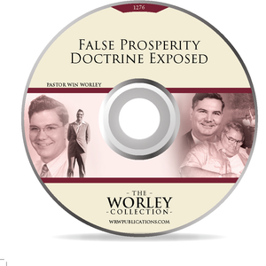 1276: False Prosperity Doctrine Exposed  (DVD)