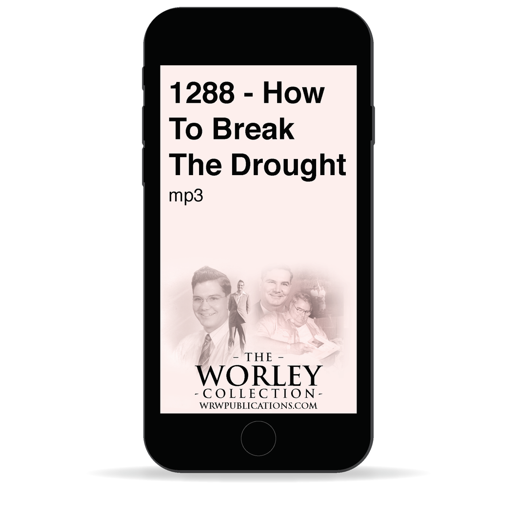 1288 - How to Break the Drought