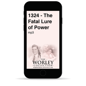 1324 - The Fatal Lure of Power