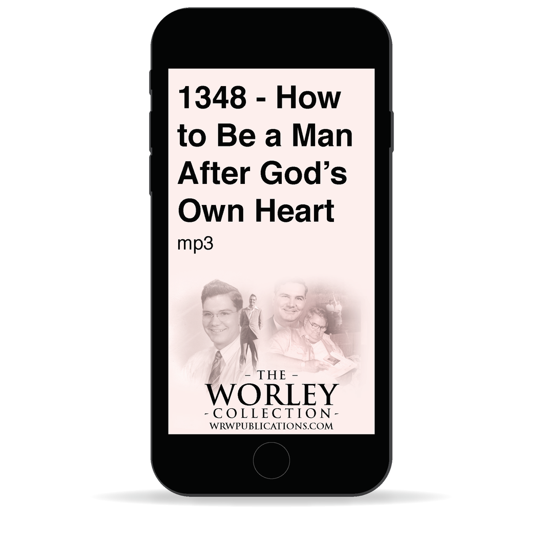 1348 - How to Be a Man After God's Own Heart