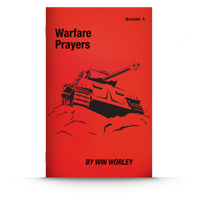 Load image into Gallery viewer, Booklet 4: Warfare Prayers