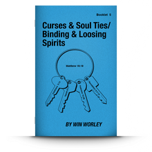 Load image into Gallery viewer, Booklet 5: Curses, Soul Ties / Binding & Loosing