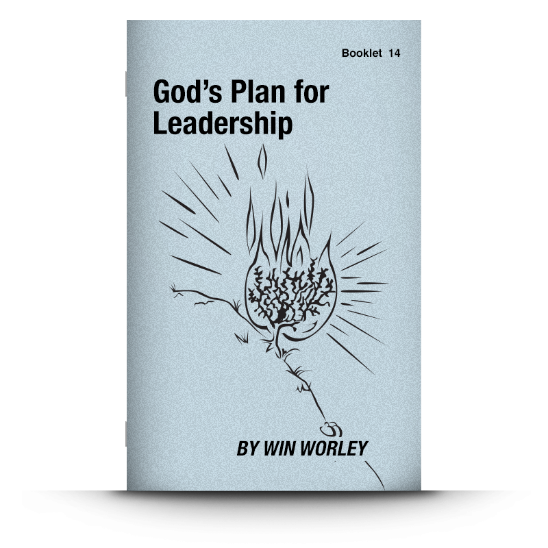 Booklet 14: God's Plan For Leadership