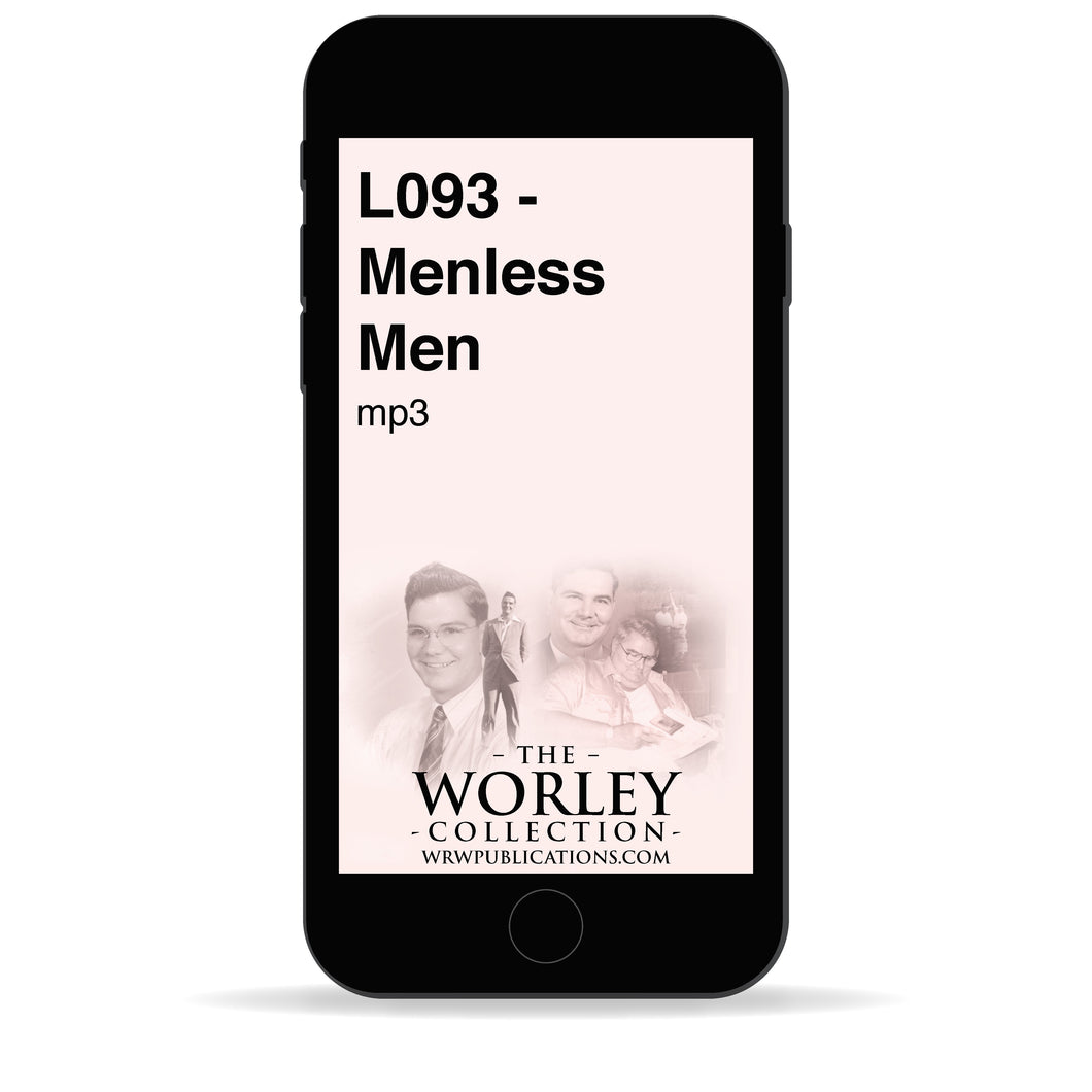 L093 - Menless Men