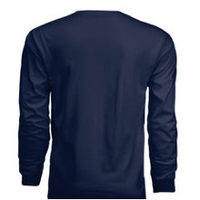 "Load image into Gallery viewer, Navy ""San Diego"" Long-Sleeve Shirt"
