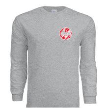 "Load image into Gallery viewer, Gray ""Storm"" Long-Sleeve Shirt"