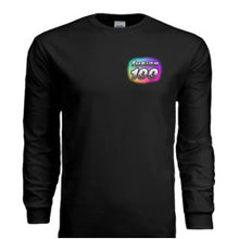 "Load image into Gallery viewer, Black ""Galaxy"" Long-Sleeve Shirt"