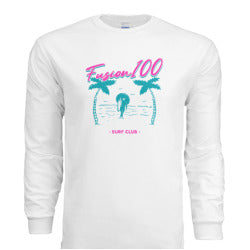 "White ""South Beach"" Long-Sleeve Shirt"