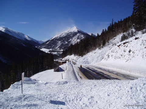 Avalanche Saftey - Photo from CAIC