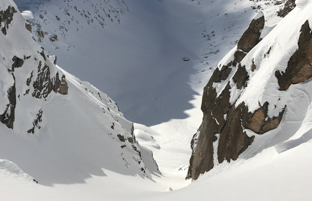 Central Couloir Ski Refugio Frey