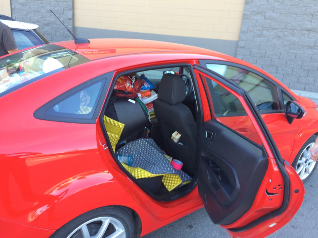 Ford Fiesta Crammed Blackburn 2016 Preperation