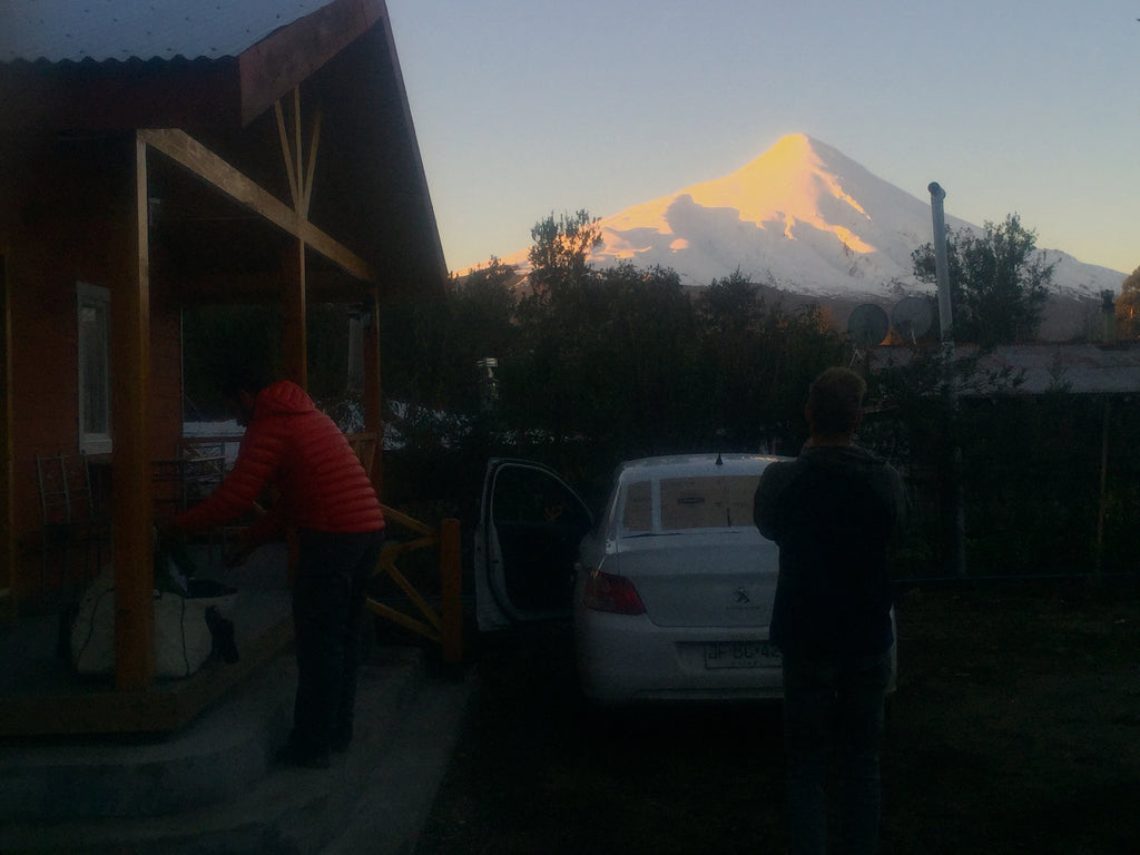 Ski-Mountaineering-Sunset-Volcano-Osorno
