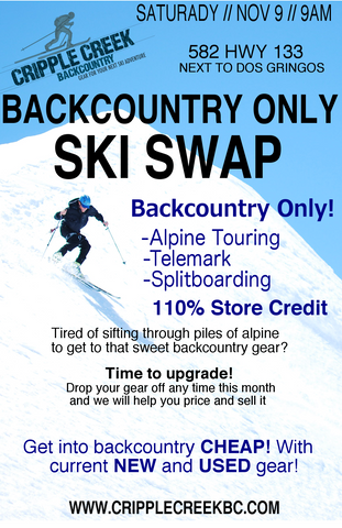 Backcountry Only Ski Swap