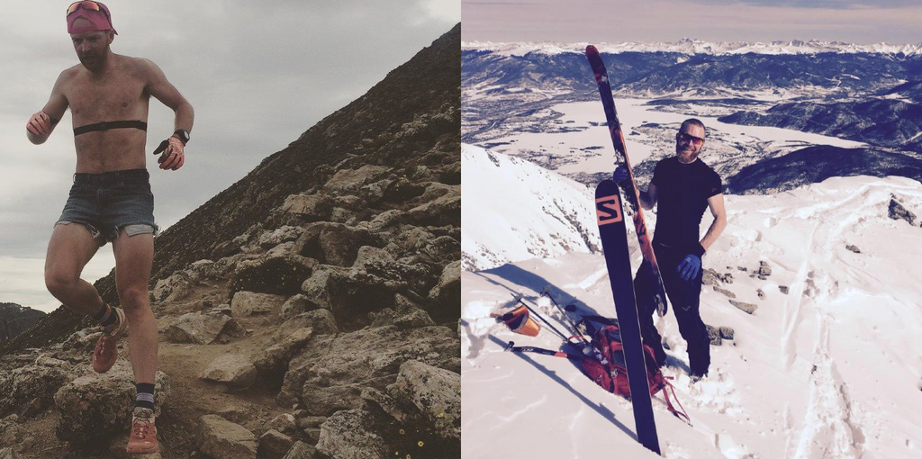 summer to ski touring fitness training