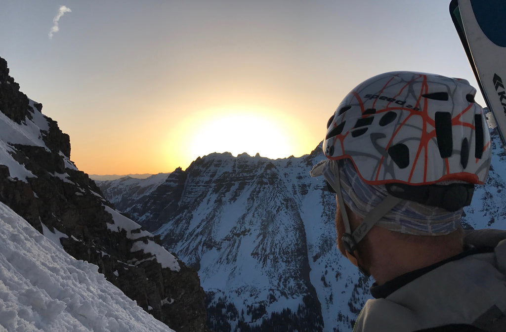 Sunrise from the maroon bells bell chord