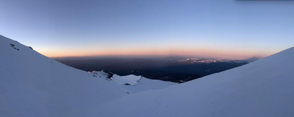 sunrise ski on shasta