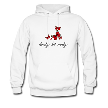 Load image into Gallery viewer, Contrast Hoodie - white