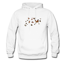 Load image into Gallery viewer, Unisex Butterfly Sweatshirt - white