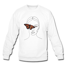 Load image into Gallery viewer, Butterfly Crewneck - white
