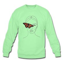 Load image into Gallery viewer, Butterfly Crewneck - lime