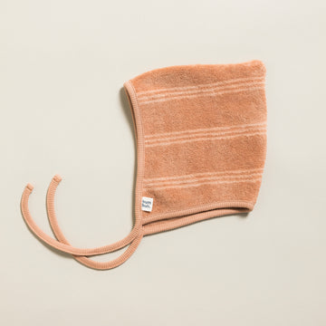Baby Bonnet Terry Stripes Cork
