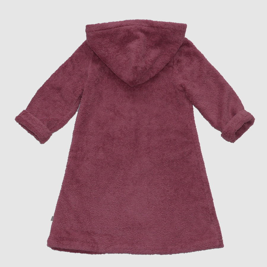 bathrobe for kids made from organic cotton, back, Bademantel für Kinder aus Biobaumwolle, Rückenansichtansicht