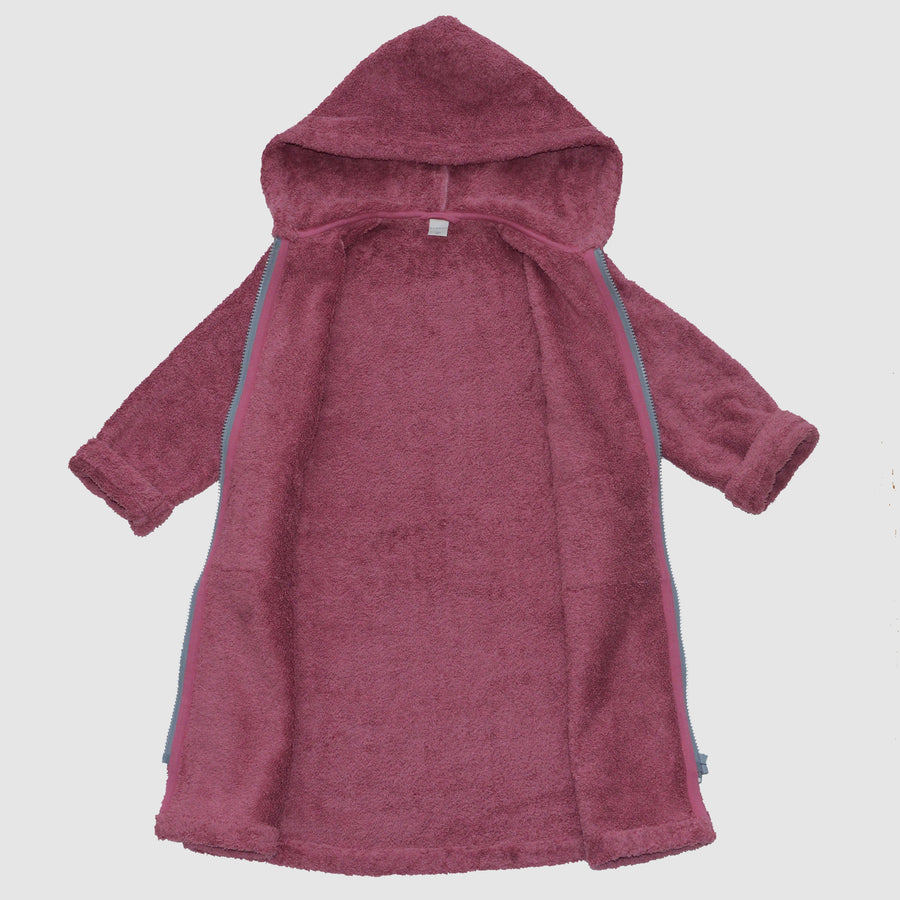 bathrobe for kids made from organic cotton, open, Bademantel für Kinder aus Biobaumwolle, geöffnet