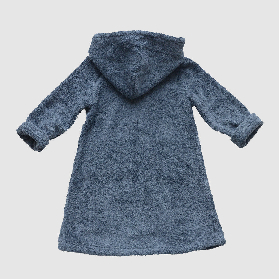 bathrobe for kids made from organic cotton, back, Bademantel für Kinder aus Biobaumwolle, Rückenansicht
