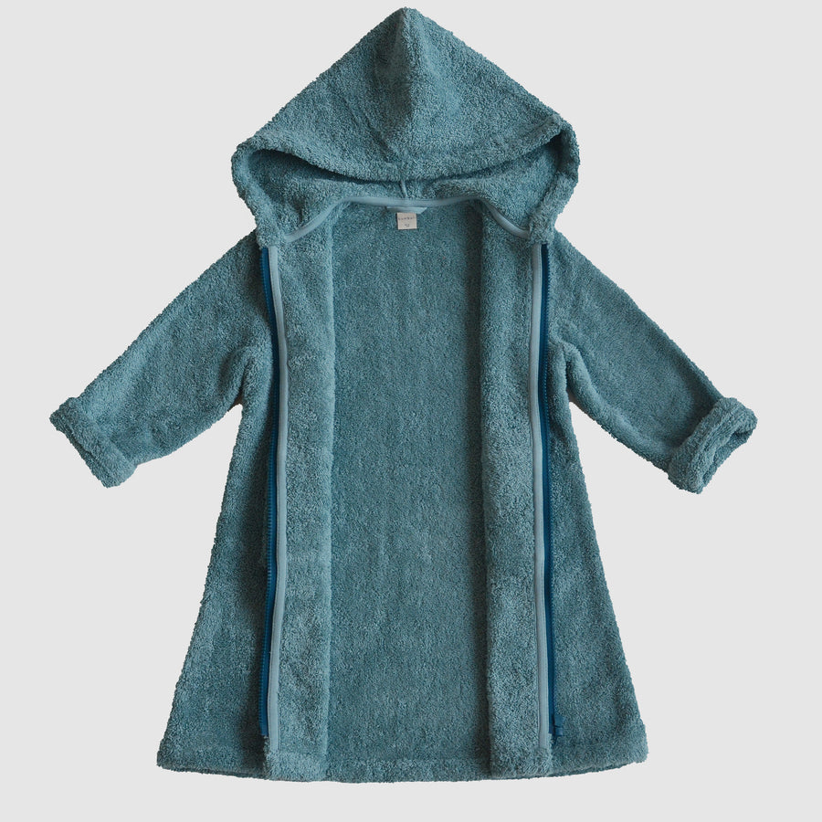 bathrobe for kids made from organic cotton, open, Bademantel für Kinder aus Biobaumwolle, offen