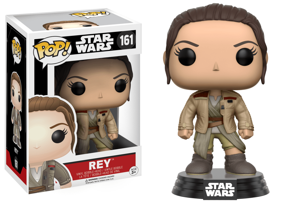 Star Wars POP! Rey (w/ Jacket)