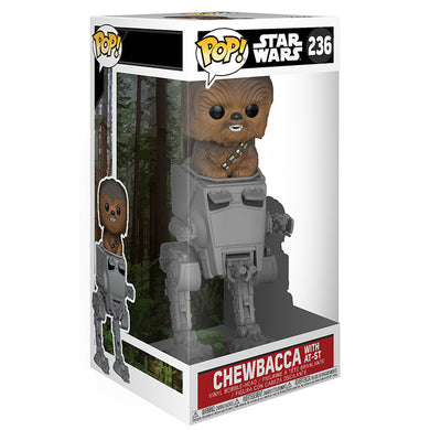 Star Wars POP  Grande! Chewbacca with AT-ST