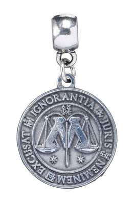 Harry Potter Pendentif (sans collier) plaqué argent Ministry of Magic