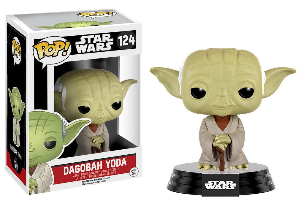 Star Wars POP!Dagobah Yoda