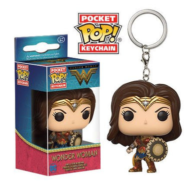 Wonder Woman Movie porte-clés Pocket POP!
