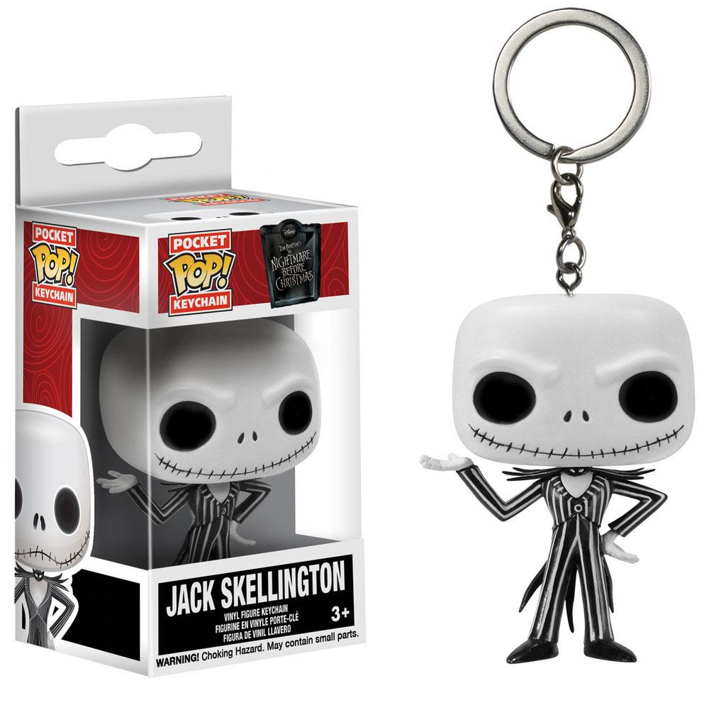 Jack Skellington porte-clés POP!