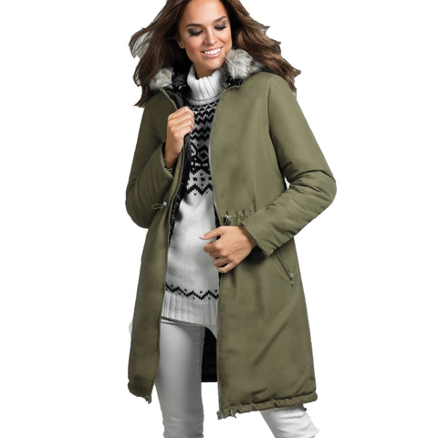 Parka reversible mujer - About U Spain
